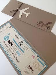 boarding pass wedding invitations wedding invitation boarding card cerca con wedding day