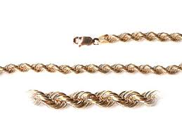 rose gold rope chain bracelet images Chains rose gold rope chain rope 100 jpg