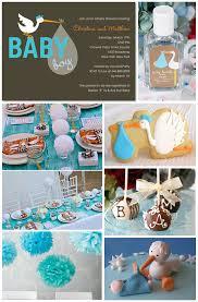 stork baby shower decorations modern baby shower decorations best baby decoration