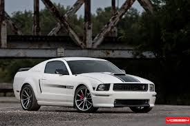 mustang gt cs ford mustang gt cs supercharged vossen wheels ford musta flickr