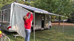 Fiamma Awnings For Motorhomes Sun View Side On Fiamma F45 L Youtube