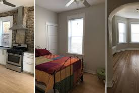 renovated albany park three bedroom apartment rents for 1 600