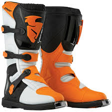 off road riding boots thor blitz motocross dirt bike offroad off road riding boots ebay