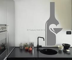 Modern Kitchen Wall Art - kitchen relativity formula wall art decal with brown kitchen