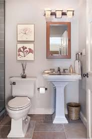 Bathroom Storage Ideas With Pedestal Sink Remarkable Small Bathroom With Pedestal Sink On Bathroom Sinks