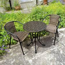 4 Seater Patio Furniture Set - summer terrace fleuretta 4 seater patio set u2013 next day delivery