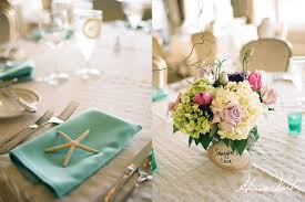 coastal centerpieces table wedding decorations svapop wedding ideas