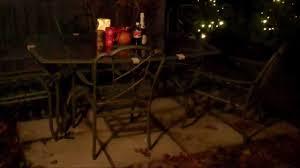 decorating the backyard for christmas youtube