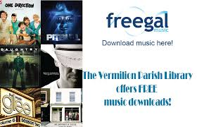 library ideas freegal vermilion parish library to offer free downloadable music from