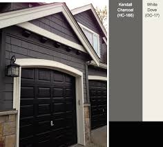 Garage Door Exterior Trim Black And White Bedroom Ideas Exterior House Colors House