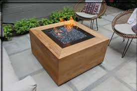 hton bay fire pit table how to build a natural gas or propane outdoor fire pit using