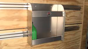 V Nose Enclosed Trailer Cabinets by Review Of The Tow Rax Aluminum Storage Cabinet Etrailer Com