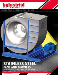 industrial air blower fan stainless steel fans and blowers industrial air technology pdf