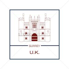 Hampton Court Palace Vector Image 1596133 Stockunlimited