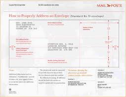 addressing business letter envelope business proposal templated