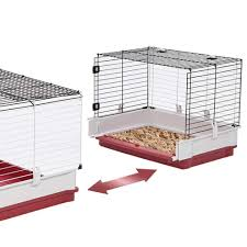 amazon com midwest homes for pets wabbitat deluxe rabbit home