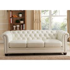 chair cool couch with nailhead trim full grain leather sofa