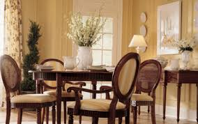 Dining Room Accents Dining Room Vintage Kitchen Design Warm Paint Accent Wall Colors