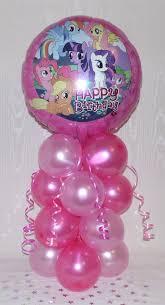 my pony balloons my pony happy birthday foil balloon display table