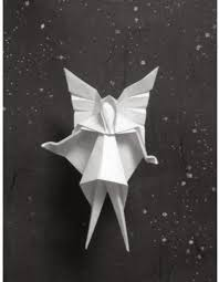 christmas tree fairy origami paper origami guide