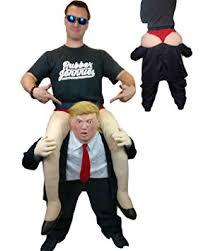 donald costume rubber johnnies tm donald ride on back costume ride