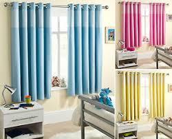 Kids Blackout Eyelet Curtains Sweetheart Children U0027s Thermal Blackout Eyelet Curtains Blue Pink