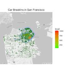 San Francisco Crime Heat Map by Rpubs Crime Analysis Of San Francisco And Seattle Summer 2014