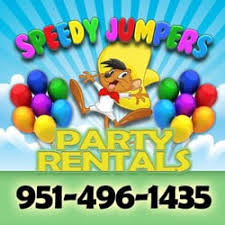party rentals in riverside ca speedy jumpers and party rentals bounce house rentals