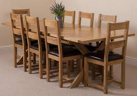vermont dining set with 8 lincoln chairs oak furniture king