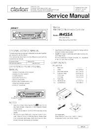 m455 clarion wiring diagram wiring diagrams