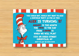 cat in the hat birthday party invitations vertabox com