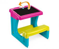 bureau enfant smoby bureau petit ecolier bureaux loisirs créatifs produits