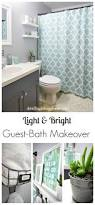light u0026 bright guest bathroom makeover the reveal small