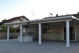 solid aluminum patio cover los angeles traditional patio