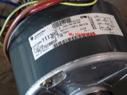 york ac condenser fan motor replacement 1172508 tempstar 1 5 h p heat pump condenser fan motor