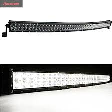 curved led light bar autofeel 50 inch 288w water proof 4d lens osram curved led light bar