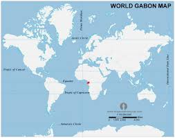 gabon in world map gabon country profile free maps of gabon open source maps of