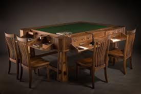 best board game table geek chic luxury board game tables hiconsumption