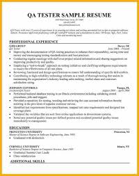 Qa Manual Tester Sample Resume by 17 Qa Manual Tester Sample Resume Software Tester Resume