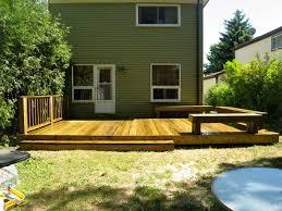 deck ideas and design natural and elegant backyard deck design