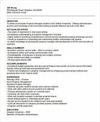 Property Management Resume Leasing Manager Resume Assistant Property Manager Resume Template