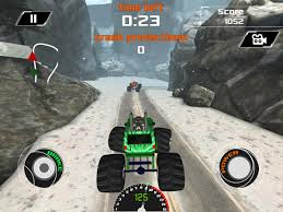 monster truck racing games 3d 3d monster truck snow racing android apps on google play
