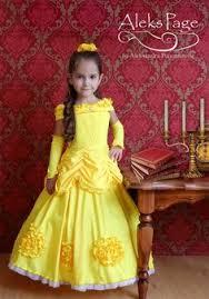 Halloween Costume Belle Beauty Beast Princess Belle Costume Yellow Dress