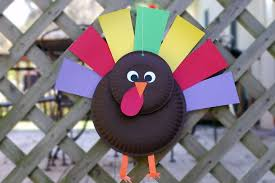 paper plate thanksgiving turkey craft for preschoolers