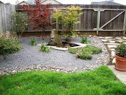 Small Backyard Idea Backyard Landscaping Ideas On A Budget Small Pond Simple Diy