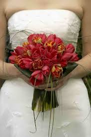 Tulip Bouquets Red Parrot Tulip Bouquet Bouquet Wedding Flower