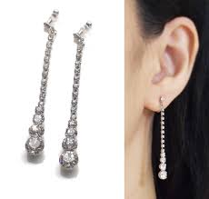 what are clip on earrings what are the ideal bridal clip on earrings gorgeous and