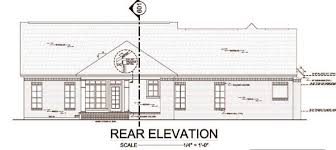 Floor Plans And Elevations Of Houses House Plan 59114 At Familyhomeplans Com