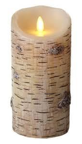 luminara flameless birch candle 7 812078024754 item