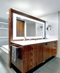 Lighted Vanity Mirror Diy Wall Ideas Lighted Wall Mounted Mirrors For Bathrooms Wall